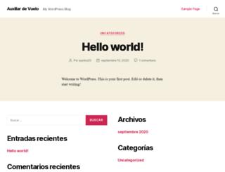 auxiliarvuelo.net screenshot