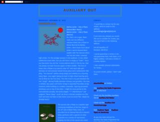 auxiliaryout.blogspot.com screenshot