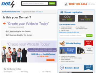auxiliumsolutions.com screenshot