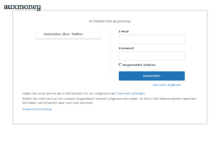 auxmoney01.zendesk.com screenshot