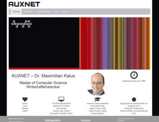 auxnet.de screenshot