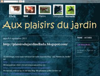 auxplaisirsdujardin-ellada.blogspot.com screenshot