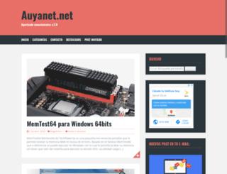 auyanet.net screenshot