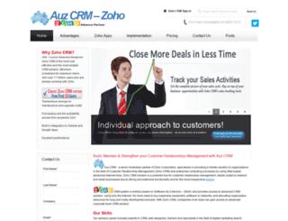 auzcrm.com.au screenshot