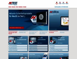 av-test.org screenshot