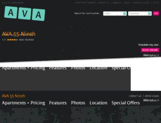 ava55ninth.com screenshot