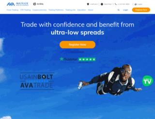 avaforex.com screenshot
