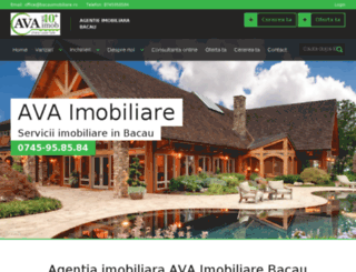 avaimobiliare.ro screenshot