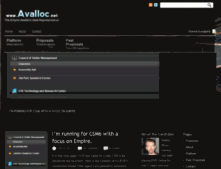 avalloc.net screenshot