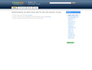 avalon-ca.chaosads.com screenshot