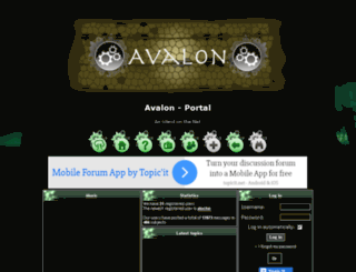 avalon.friendhood.net screenshot