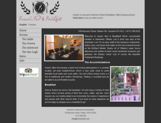 avalonbedandbreakfast.com screenshot