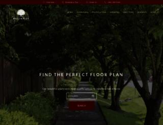avalonpark.prospectportal.com screenshot