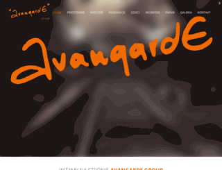 avangardegroup.pl screenshot