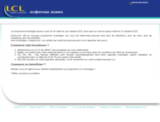 avantage-jeunes.lcl.fr screenshot