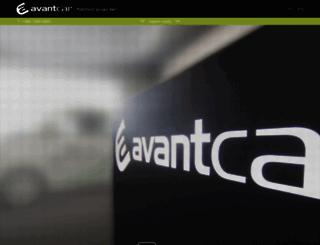 avantcar.si screenshot