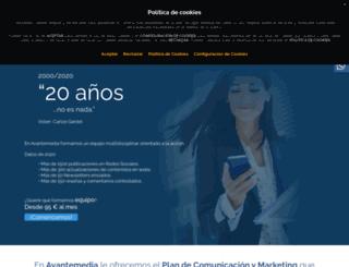 avantemedia.com screenshot