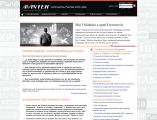 avanter.cl screenshot
