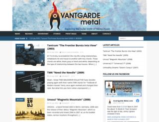 avantgarde-metal.com screenshot