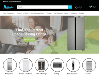 avantiproducts.com screenshot