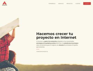 avanzis.com screenshot