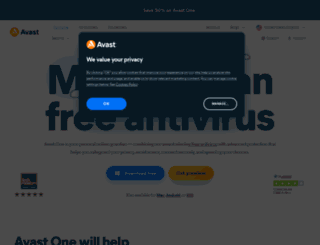 avast.com screenshot