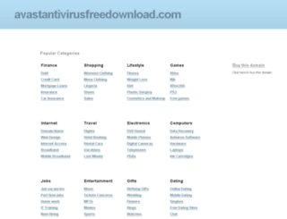 avastantivirusfreedownload.com screenshot