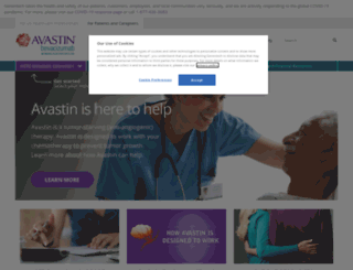 avastin.com screenshot