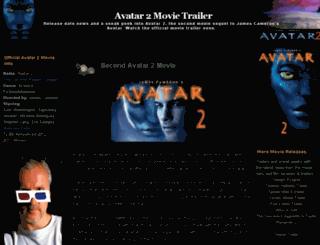 avatar2.3dmovie-trailer.com screenshot
