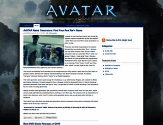 avatarblog.typepad.com screenshot