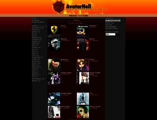 avatarhell.com screenshot