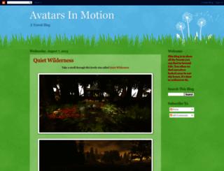 avatarsinmotion.blogspot.com screenshot