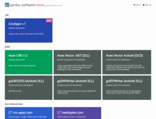 avax-software.com screenshot