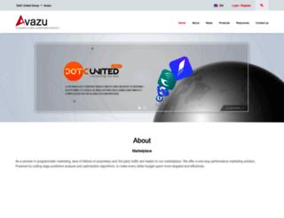 avazuinc.com screenshot