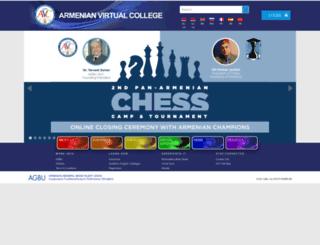 avc-agbu.org screenshot