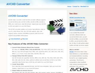 avchdconverter.org screenshot