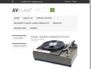 avclass.fr screenshot