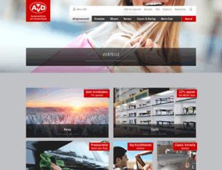 avd-bonuswelt.de screenshot