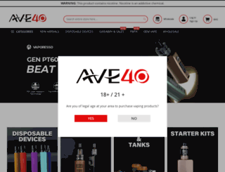 ave40.com screenshot