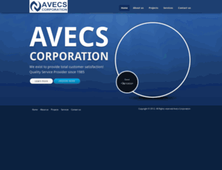 avecscorp.com screenshot
