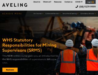 aveling.com.au screenshot