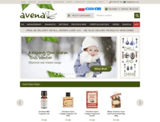 avena.co.uk screenshot