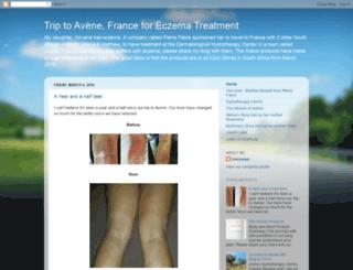 aveneskinhealingproducts.blogspot.fr screenshot