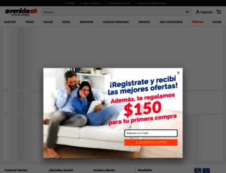 avenida.com.ar screenshot