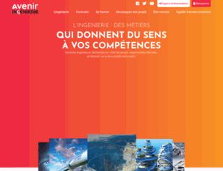 avenir-ingenierie.fr screenshot