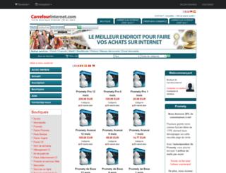avenir07.carrefourinternet.com screenshot