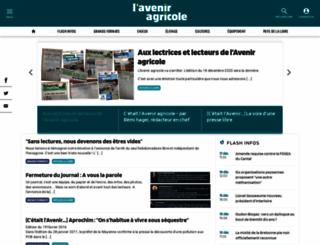 aveniragricole.net screenshot