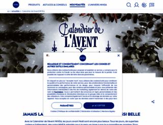 avent.nivea.ch screenshot