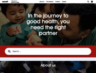 aventispharmaindia.com screenshot