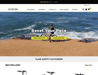 aventonbikes.com screenshot
